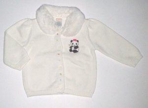 GYMBOREE NWT Little Panda Sweater 6-12m
