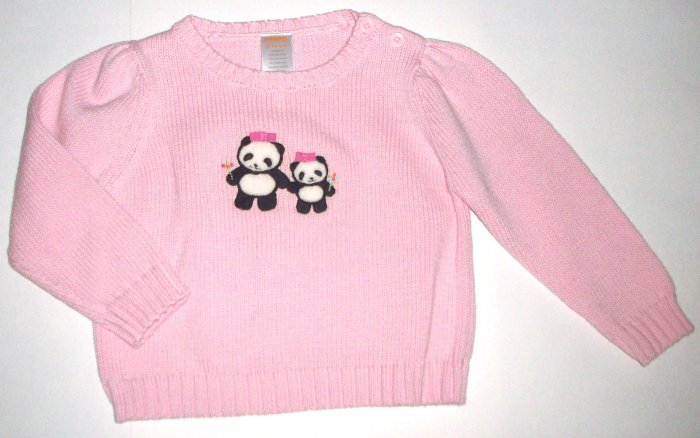 GYMBOREE NWT Little Panda Sweater 18-24m