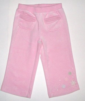 GYMBOREE NWT Snow Princess Velour Pants 18-24m