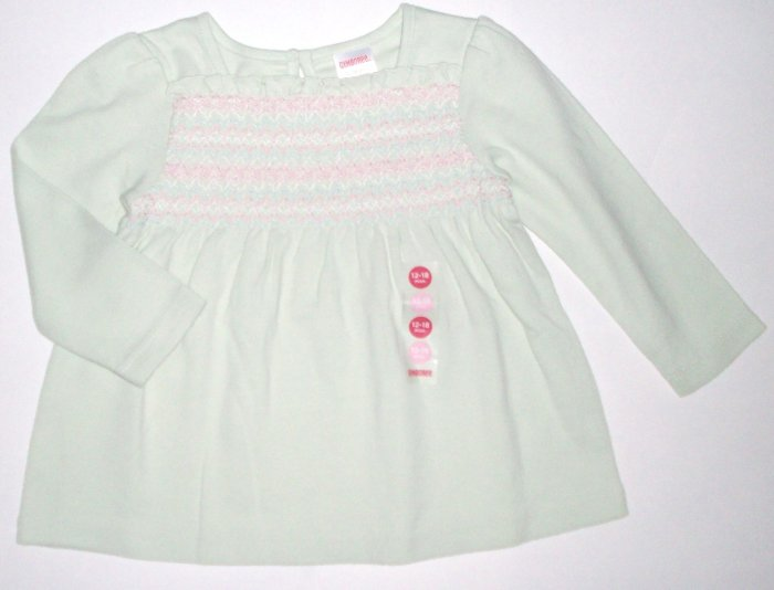 GYMBOREE NWT Snow Princess Smocked Top 18-24m