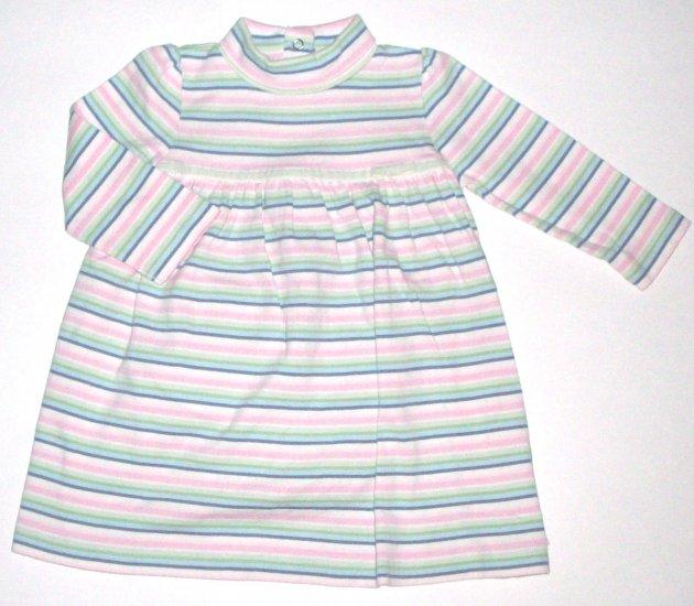 GYMBOREE NWT Snow Princess Knit Striped Dress 18-24m