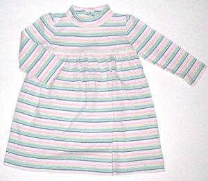 GYMBOREE NWT Snow Princess Knit Striped Dress 18-24m