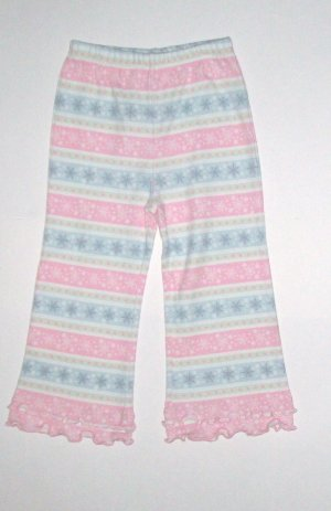 GYMBOREE NWT Snow Princess Snowflake Knit Pants 2T