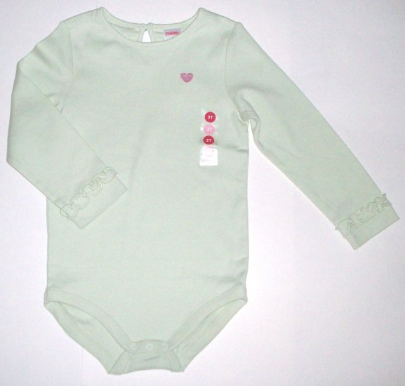GYMBOREE NWT Snow Princess Green Bodysuit 3T
