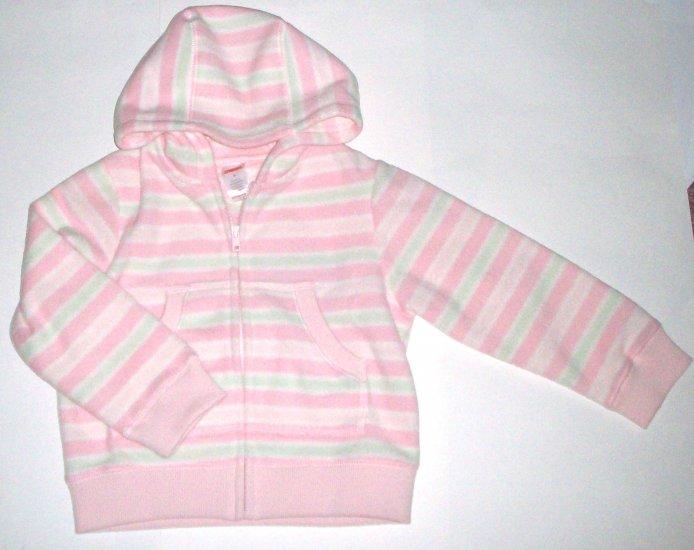 GYMBOREE NWT Snow Princess Pink Fleece Jacket 6