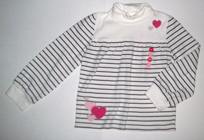 GYMBOREE NWT Tres Chic Striped Top 5T