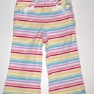 GYMBOREE NWT Wish You Were Here Striped Pants 18-24m