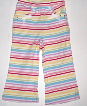 GYMBOREE NWT Wish You Were Here Striped Knit Pants 2T