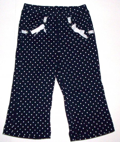 GYMBOREE NWT Wish You Were Here Navy Dot Pants 3T