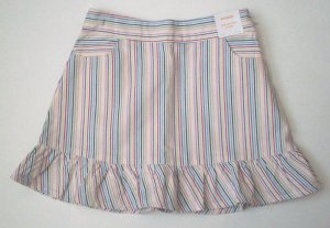 GYMBOREE NWT Wish You Were Here Striped Skirt 3