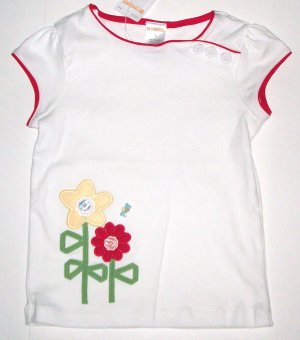 GYMBOREE NWT Wish You Were Here Top 4