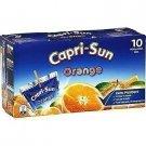lot 3 x 10 capri sun orange 20 cl