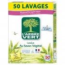 L'ARBRE VERT: Ecological powder detergent with vegetable soap 2.5 kg
