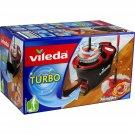 VILEDA microfiber turbo kit broom + bucket