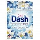 DASH lotus flower & lily powder detergent 2.6 kg 40 washes