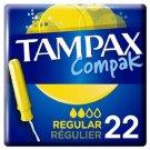 set 3 x 22 Tampax Compak Regular