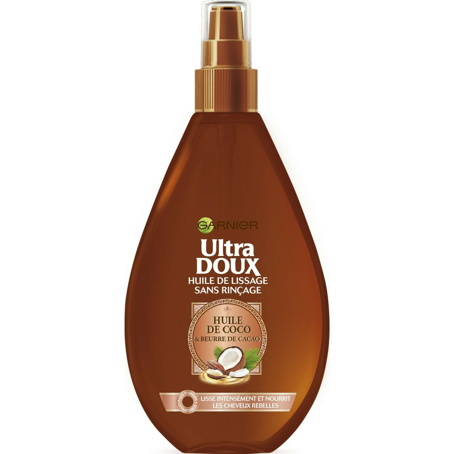 ULTRA GENTLE leave-in smoothing oil 150 ml