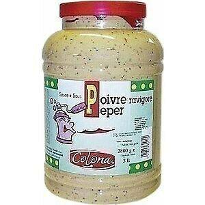 Pepper sauce invigorates COLONA - the 3 liter jar