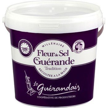 Guérande sea salt 1 kg le guerandais