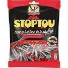 lot 3 Stoptou candies liquorice flavor 165 g la pie qui chante