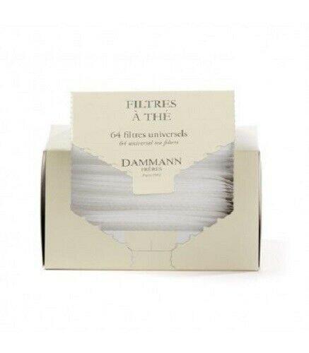 box of 64 polypropylene tea filters