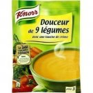 lot 3 Dehydrated soup sweetness 9 vegetables with a touch of cream 84 g