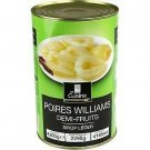 Williams pears half-fruit 2295 g net drained in the kitchen