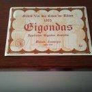 Gigondas 1985 New Wine Label