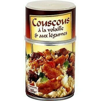 lot 3 Couscous with poultry and vegetables 980 g first price