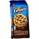 lot 3 Biscuits large chocolate chips 184 gr granola