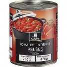 lot 3 Whole peeled tomatoes in juice 476 g net drained in the kitchen