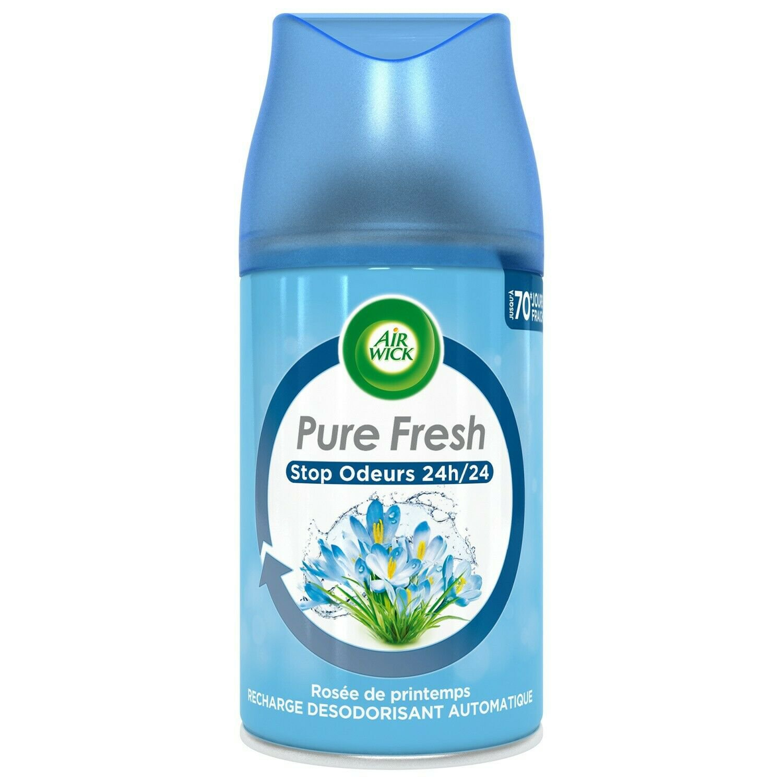 lot 3 AIR WICK Spring Dew Deodorant 250 ml