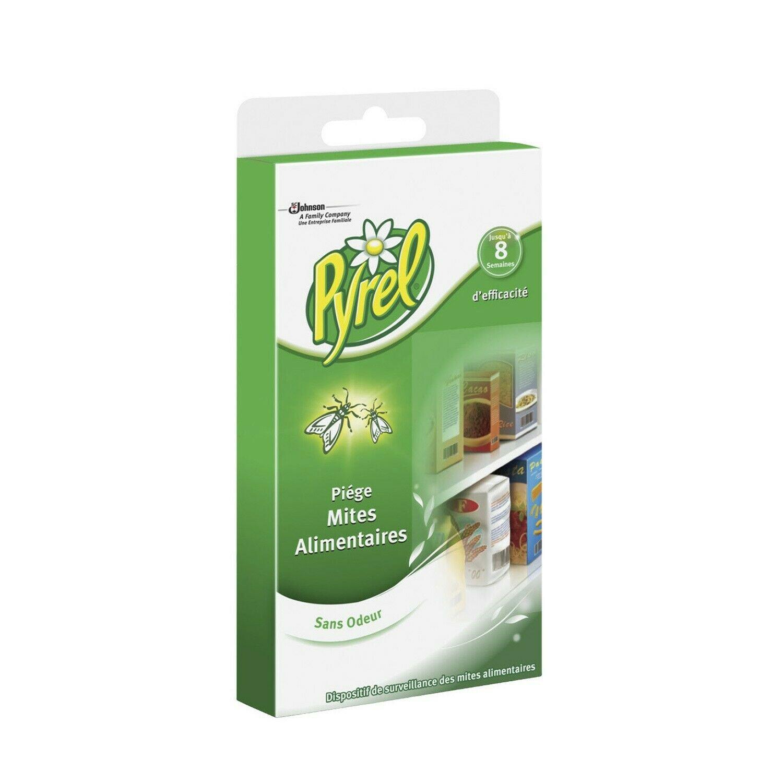 PYREL odorless food moth trap x2