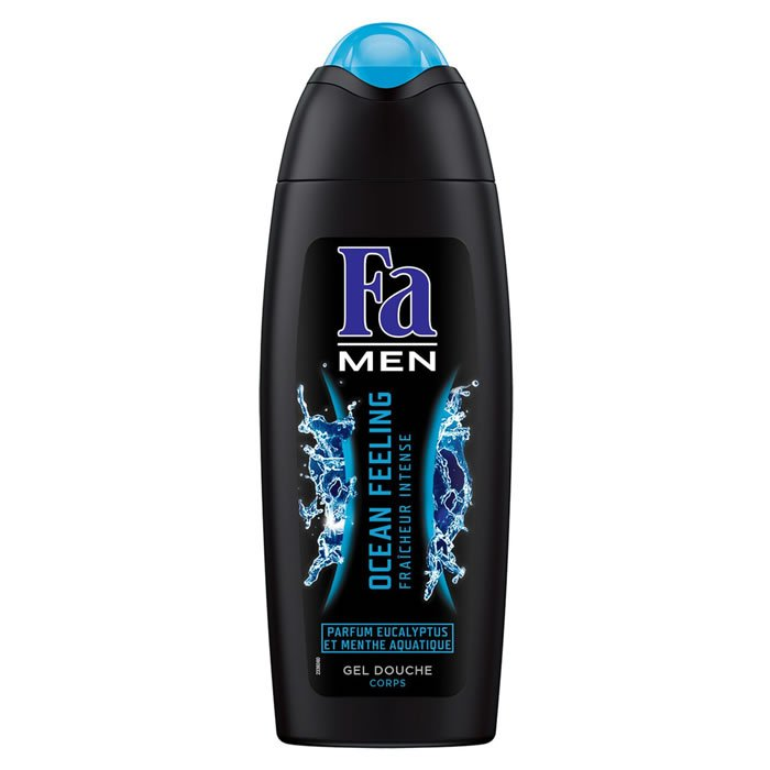 lot 3 FA: Men - Fresh eucalyptus and mint shower gel 250 ml