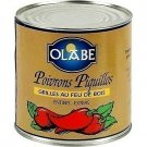 Whole wood-fired piquillo peppers extra 1900 g net olabe