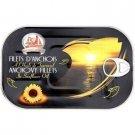 Anchovy fillets in sunflower oil 250 g la monegasque