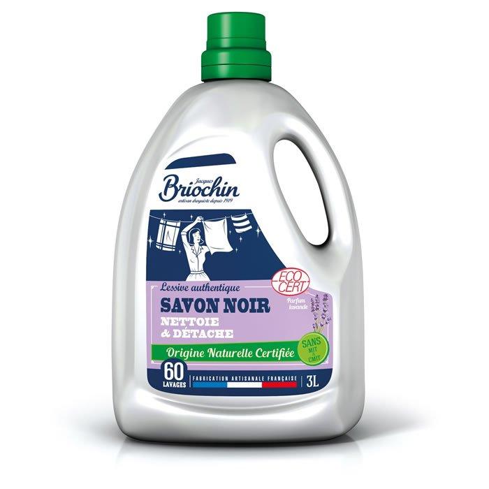 JACQUES BRIOCHIN: Liquid laundry detergent with lavender black soap 3 liters