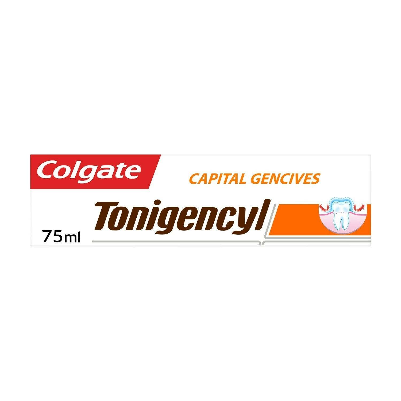 lot 3 Capital Gums tonigencyl toothpaste 75 ml