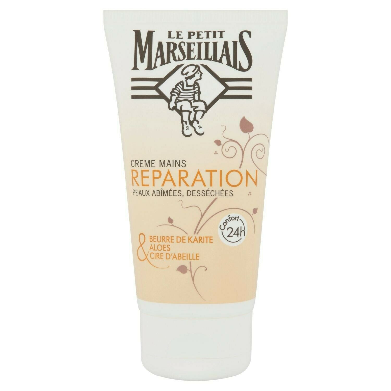 lot 3 LE PETIT MARSEILLAIS repair hand cream 75 ml