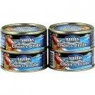 lot 4 crab meat 103 g nautilus