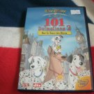 dvd disney 101 dalmatians 2: on the trail of heroes like new