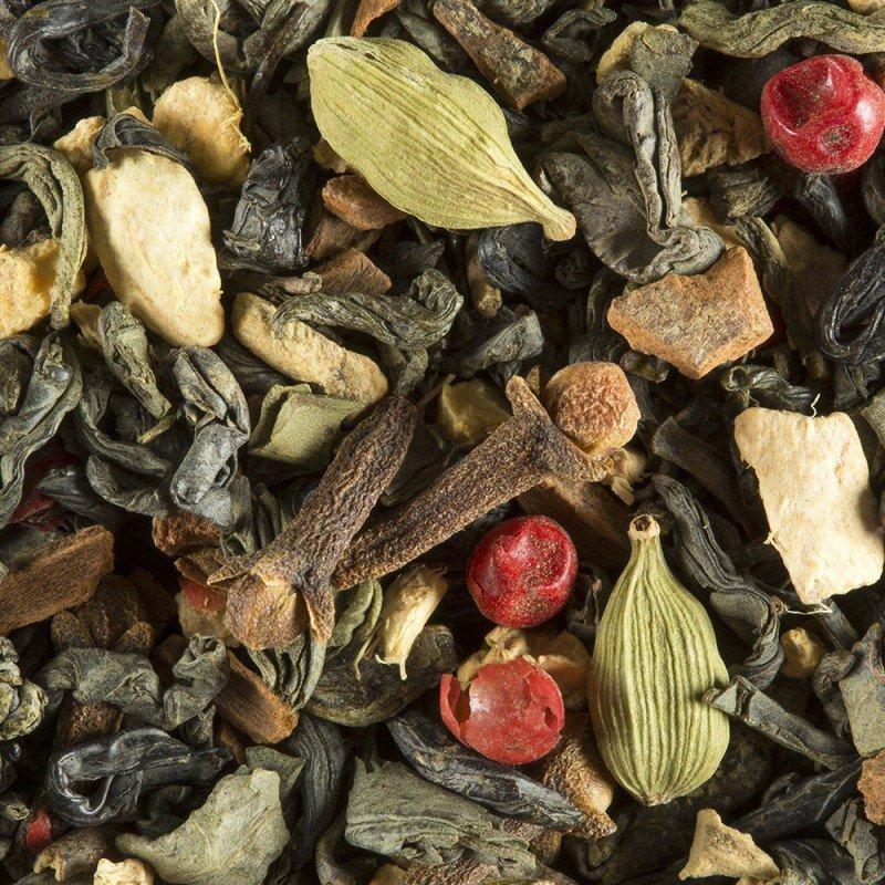 loose green tea chai bag 100 gr damman frere