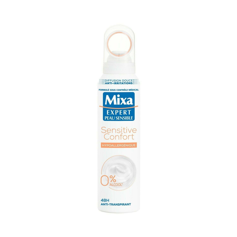 lot 3 MIXA Hypoallergenic Deodorant 150 ml