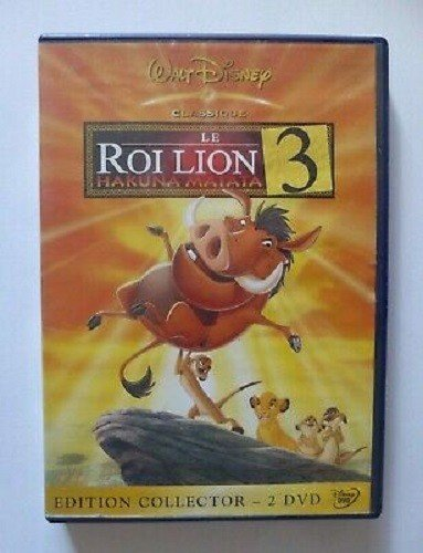 dvd disney The Lion King 3, Hakuna Matata - Collector's Edition in good condition