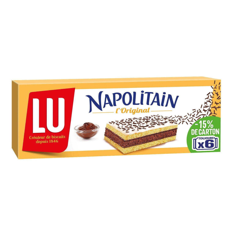 lot 3 x 6 NAPOLITAN chocolate cakes read 180 gr