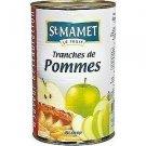 Apple slices in 5/1 saint mamet syrup