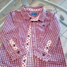 Boy's short-sleeved shirt size 24 months kidkanai brand in very good condition