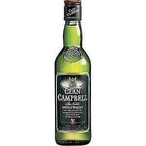 whiskey 40% 35 clan campbell