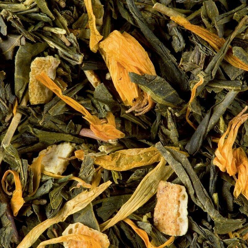 loose green tea dune d'epices box 100 gr damman frere