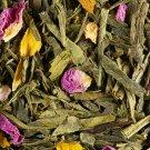 green tea loose green peach bag 50 gr damman frere